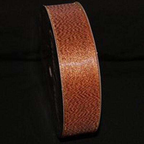 Ruban cuivre brillant 25mm