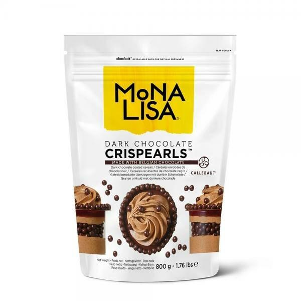 Crispearls au chocolat noir de Mona Lisa