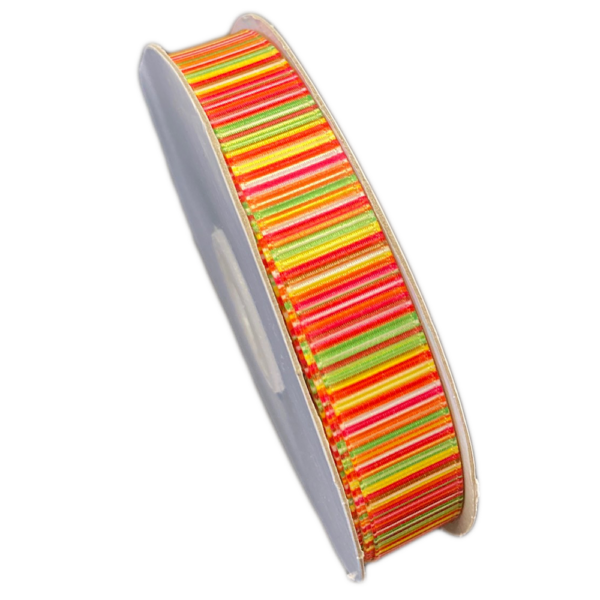 MULTI-COLOR LINED RIBBON (0.6in)