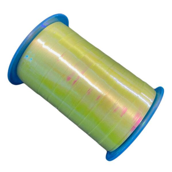 Iridescent green ribbon