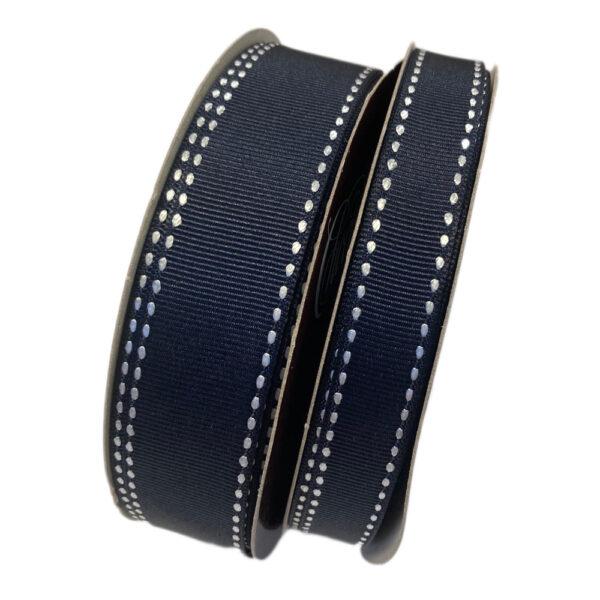 Black Raven grosgrain ribbon