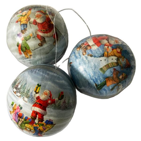 Ball to garnish, Christmas Fun (3.15in)