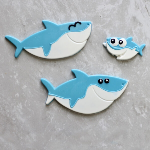 Moule à chocolat, Famille Requin