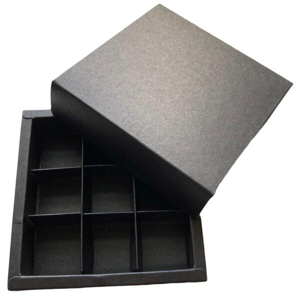 Boîtes pour chocolats, collection Ardoise ( 9mcx )