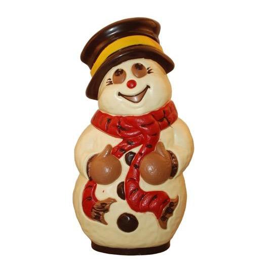 Chocolate Professional Mold, Snowman (F)