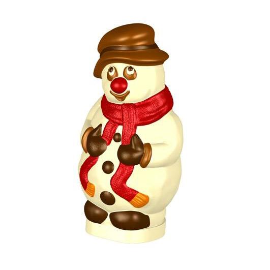 Professional Chocolate Mold, Snowman (F)