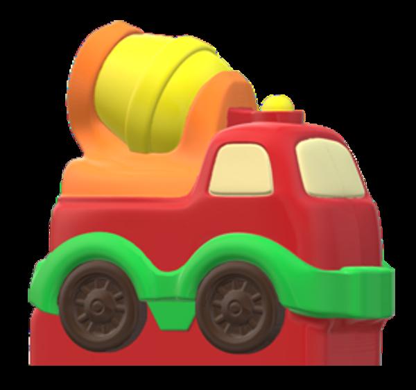 Moule à chocolat, Camion bétonnière (B)
